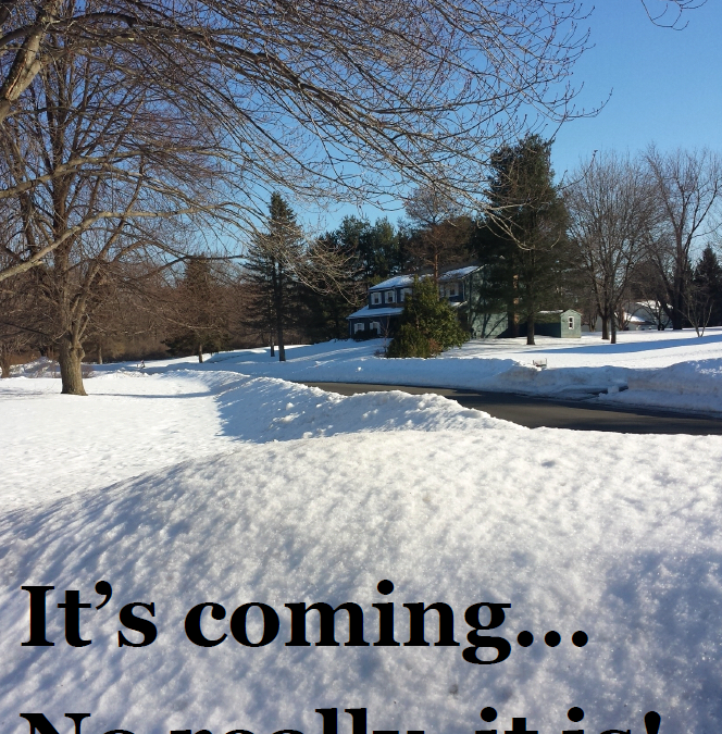 Wordless Wednesday:  It's Coming!